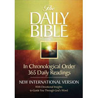 The Daily Bible Hardcover
